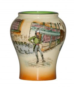Dickens Alfred Jingle Vase 5H - Royal Doulton Seriesware