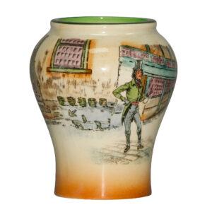 Dickens Alfred Jingle Vase 5H - Royal Doulton Seriesware