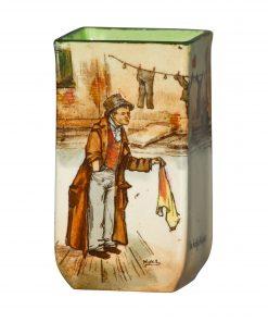 Dickens Artful Dod Mini Vase 3 - Royal Doulton Seriesware