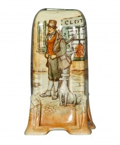 Dickens Barkis Posy Vase 4H - Royal Doulton Seriesware