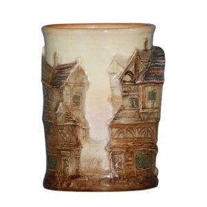 Dickens Bill Sykes Relief Vase - Royal Doulton Seriesware