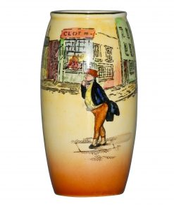 Dickens Bill Sykes Vase 6H - Royal Doulton Seriesware