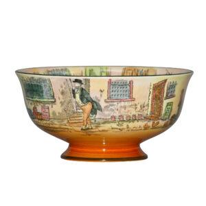 Dickens Bowl Pedestal 7Dia - Royal Doulton Seriesware
