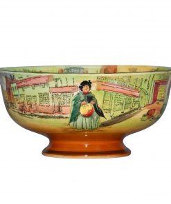 Dickens Bowl Pedestal 8Dia - Royal Doulton Seriesware