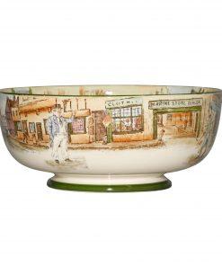 Dickens Bowl Pedestal 9Dia - Royal Doulton Seriesware