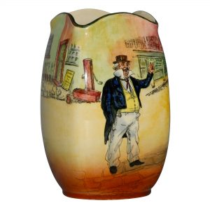 Dickens Capn Cuttle Vase 7H - Royal Doulton Seriesware