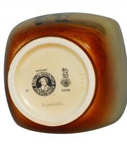 Dickens Capn Cuttle Vase 7H - Royal Doulton Seriesware