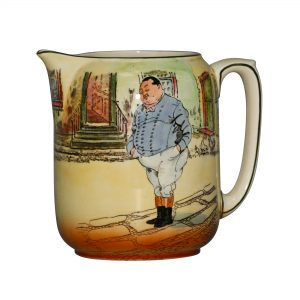 Dickens Fat Boy Pitcher 6H - Royal Doulton Seriesware