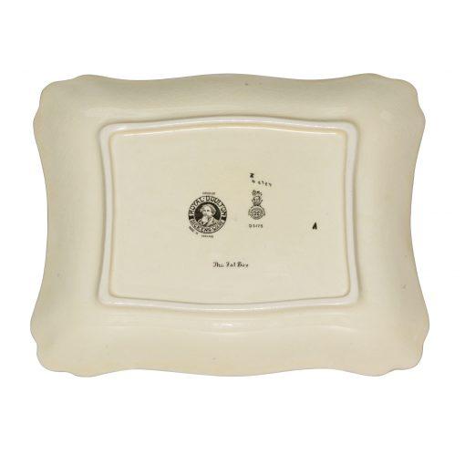 Dickens Fat Boy Square Tray - Royal Doulton Seriesware