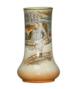 Dickens Fat Boy Vase 5H - Royal Doulton Seriesware
