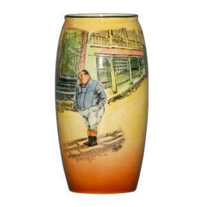 Dickens Fat Boy Vase 6H - Royal Doulton Seriesware