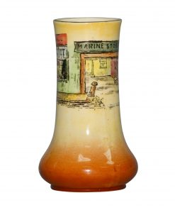 Dickens Little Nell Vase 5H - Royal Doulton Seriesware