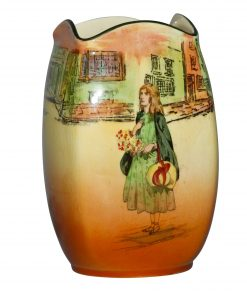 Dickens Little Nell Vase 7H - Royal Doulton Seriesware