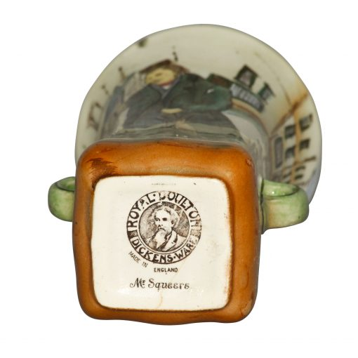 Dickens Mr Pickwick Vase 6H - Royal Doulton Seriesware