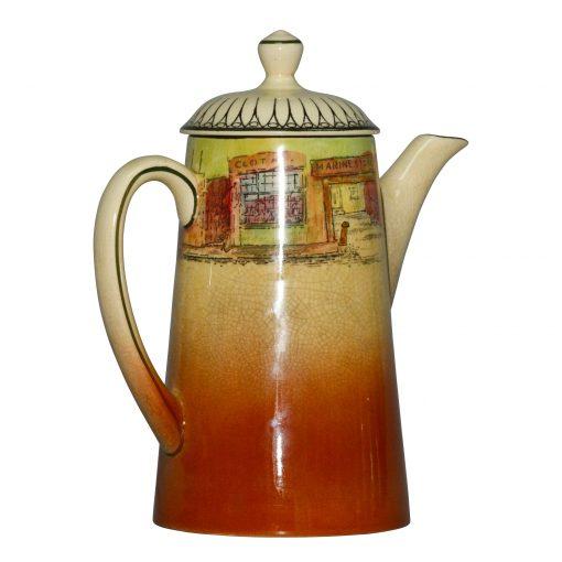 Dickens Mr Squeers Teapot - Royal Doulton Seriesware