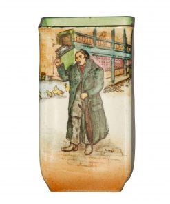 Dickens Mr Squeers Mini Vase 3 - Royal Doulton Seriesware
