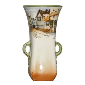 Dickens Mr Squeers Vase 6H - Royal Doulton Seriesware
