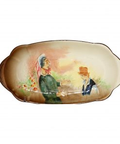 Dickens Mrs Bardell Tray Small - Royal Doulton Seriesware