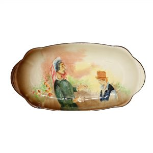 Dickens Mrs Bardell Tray Small - Royal Doulton Seriesware