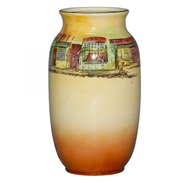 Dickens Old Peggoty Vase D5175 - Royal Doulton Seriesware