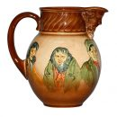 Dickens Pitcher with Character - Royal Doulton Seriesware