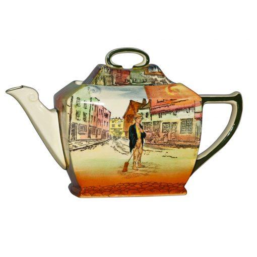 Dickens Poor Jo Friar Teapot - Royal Doulton Seriesware