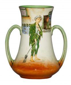 Dickens Poor Jo Vase 6H - Royal Doulton Seriesware