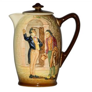 Dickens Relief Pecksniff Pitch - Royal Doulton Seriesware