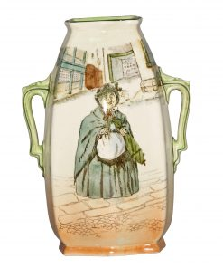 Dickens Sairey Gamp Vase SQ 9H - Royal Doulton Seriesware