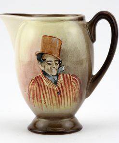 Dickens Sam Weller Pitcher Miniature - Royal Doulton Seriesware