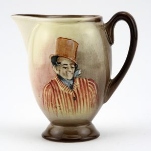 Dickens Sam Weller Pitcher Miniature - Royal Doulton Seriesware