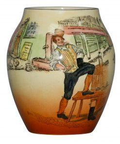 Dickens Sam Weller Vase 6H - Royal Doulton Seriesware