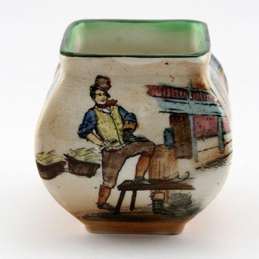 Dickens Sam Weller Vase Square Miniature - Royal Doulton Seriesware
