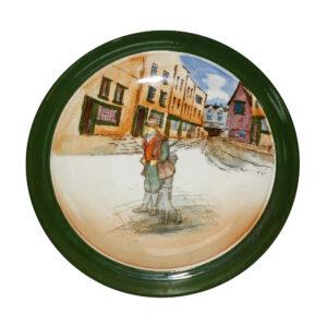 Tea Trivet Bill Sykes - Royal Doulton Dickens Seriesware