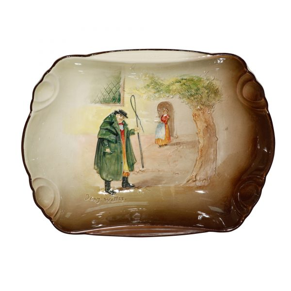 Dickens Tony Weller Tray - Royal Doulton Seriesware