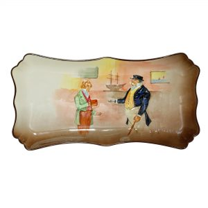 Dickens Toots Cuttle Tray - Royal Doulton Seriesware