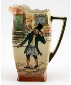 Dickens Trotty Veck Square Pitcher - Royal Doulton Seriesware