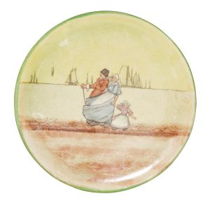 "Tea Trivet ""Dutch A Harlem"" - Royal Doulton Seriesware"