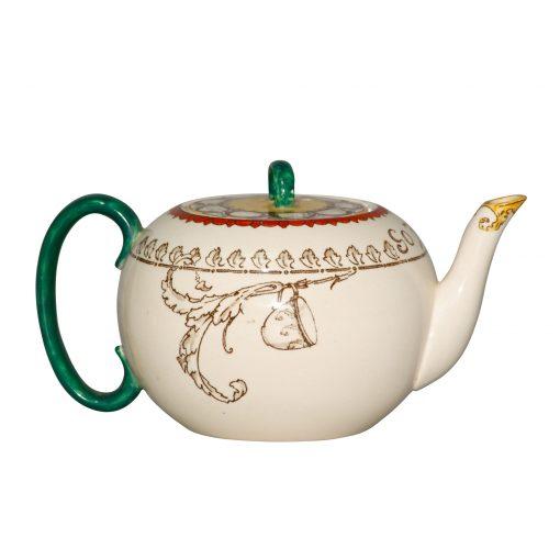 "Teapot ""Monks and Mottoes"" - Royal Doulton Seriesware"