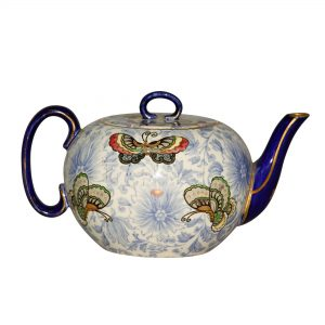 """Teapot """"Flowers and Butterflies"""" - Royal Doulton Seriesware"""