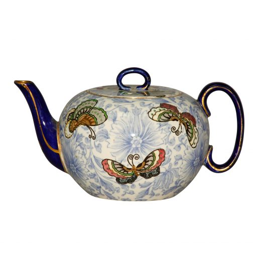 "Teapot ""Flowers and Butterflies"" - Royal Doulton Seriesware"