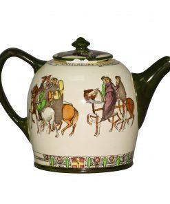 "Teapot ""Canterbury Pilgrims"" - Royal Doulton Seriesware"