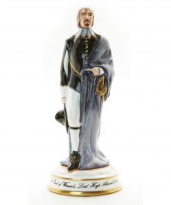 Earl of Warwick Figure 7H - Michael Sutty Figurine