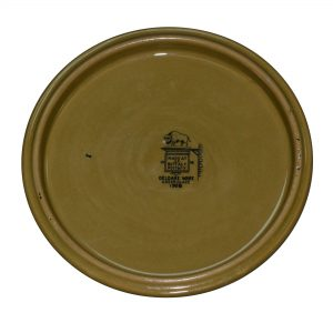 "Travel Tile ""Traveling in ye Olden Days"" - Buffalo Pottery Deldare Ware"
