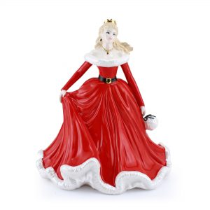Merry Christmas 2007 - Coalport Figurine