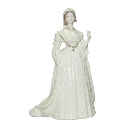 Queen Victoria RW Anniversary - Coalport Figurine