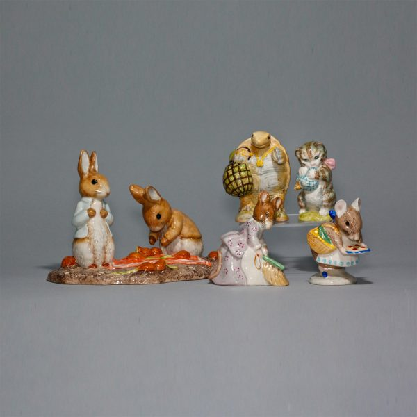 Beatrix Potter Lot 4125