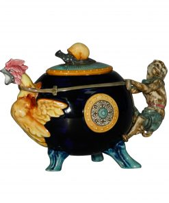 Cockerel Monkey Teapot - Minton Teapot
