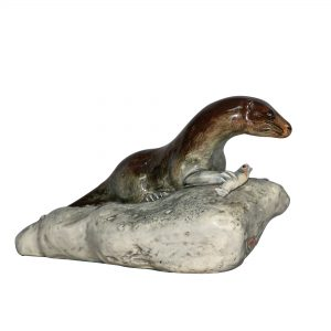 Otter on Rock PTP - Royal Doulton Animal