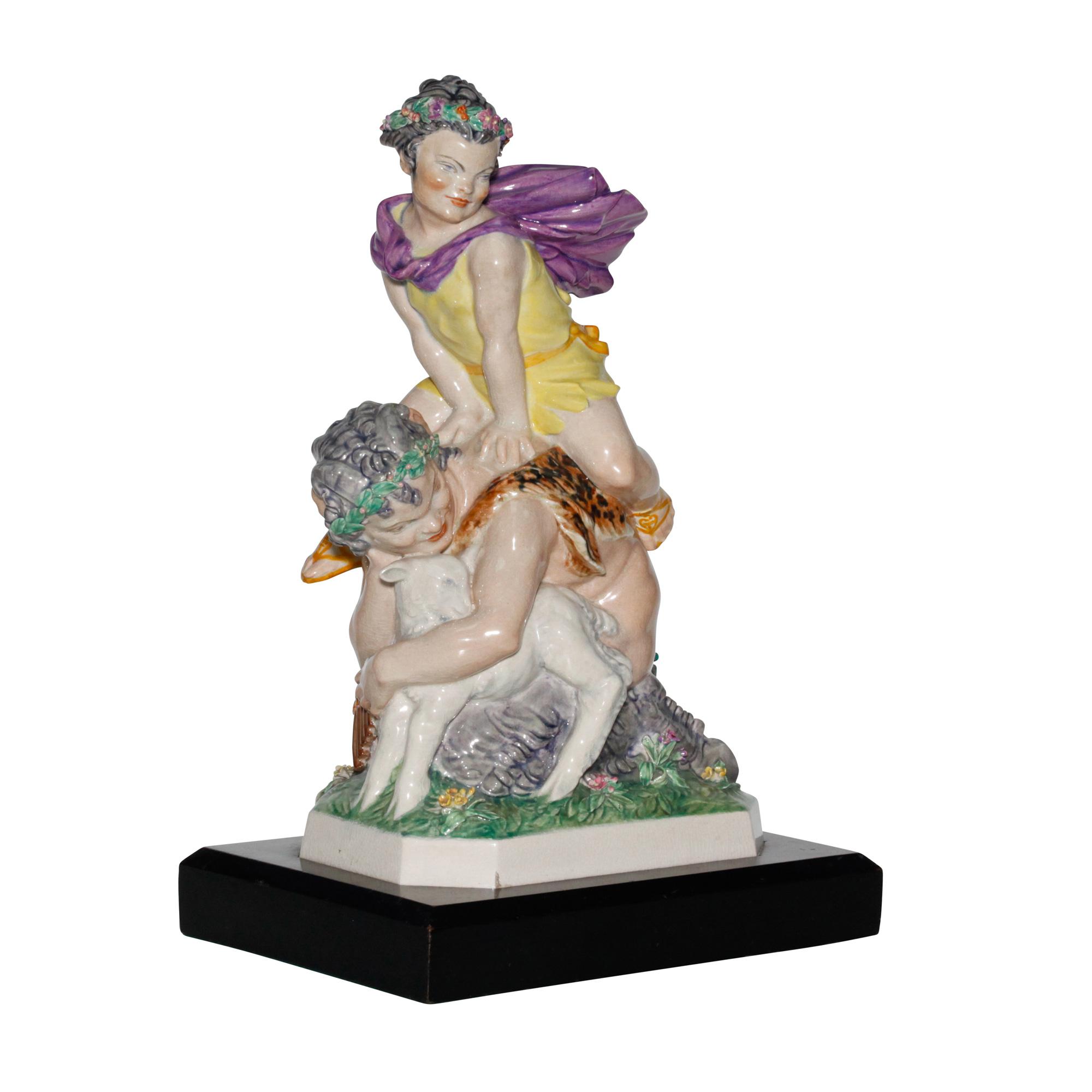 La Folie Bergre Charles Vyse Figurine